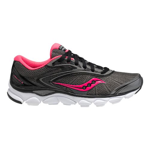 Womens Saucony Virrata 2 Running Shoe - Grey/Pink 9