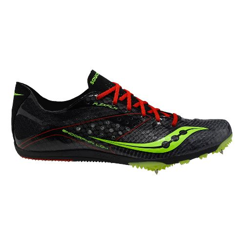 Mens Saucony Endorphin LD4 Track and Field Shoe - Black 12.5