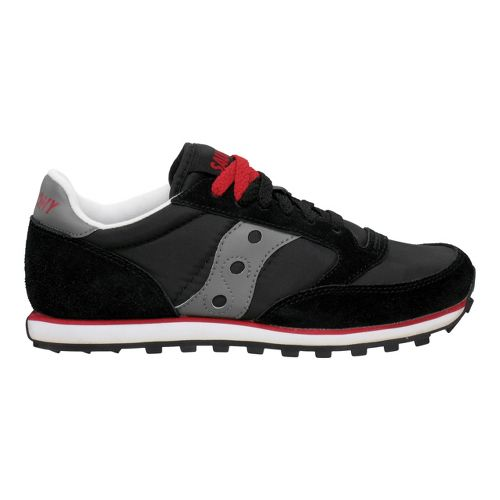Womens Saucony Jazz Low Pro Casual Shoe - Black/Dark Grey 5