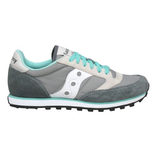 Womens Saucony Jazz Low Pro Casual Shoe - Grey/White 7