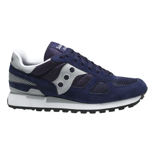 Mens Saucony Shadow Original Casual Shoe - Navy 8.5
