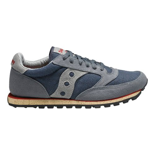 Mens Saucony Jazz Low Pro Vegan Casual Shoe - Grey 8.5