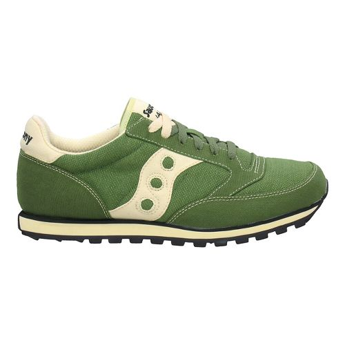 Womens Saucony Jazz Low Pro Vegan Casual Shoe - Green 5
