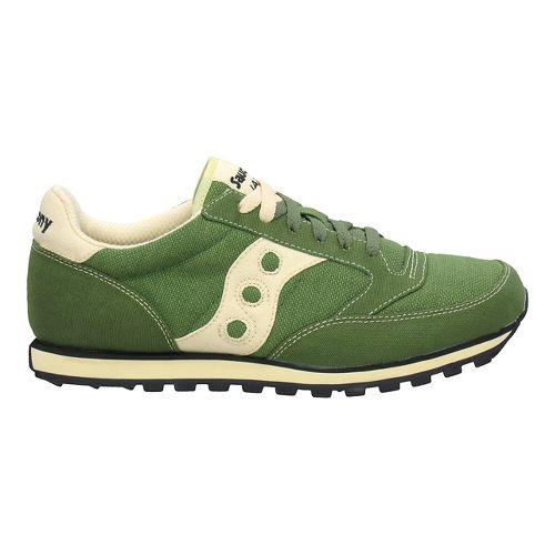 Womens Saucony Jazz Low Pro Vegan Casual Shoe - Green 7