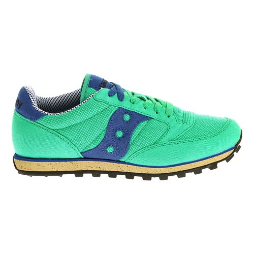 Womens Saucony Jazz Low Pro Vegan Casual Shoe - Green/Blue 7