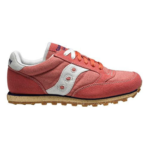 Womens Saucony Jazz Low Pro Vegan Casual Shoe - Pink 7.5