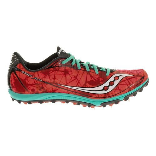 Womens Saucony Shay XC4 Spike Cross Country Shoe - Coral 5