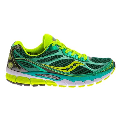 Womens Saucony Ride 7 Running Shoe - Green 9