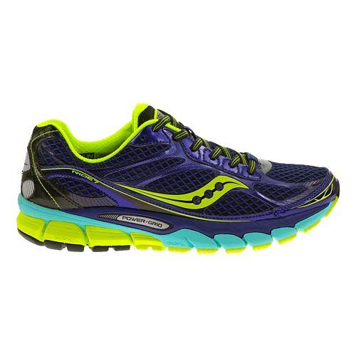 Womens Saucony Ride 7 Running Shoe - Twilight/Oxygen 8.5