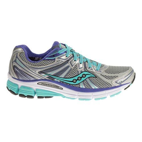 Womens Saucony Omni 13 Running Shoe - Black/Pink 12