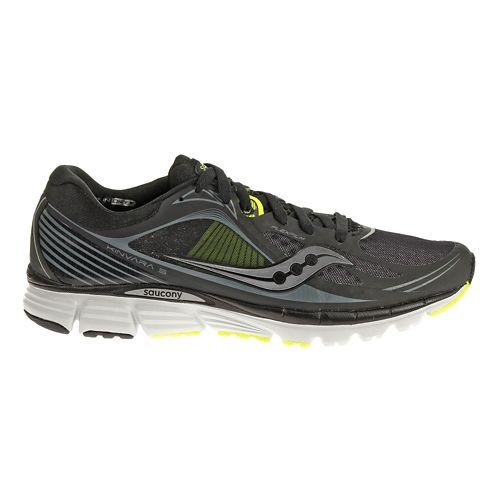 Mens Saucony Kinvara 5 Running Shoe - Black 11.5