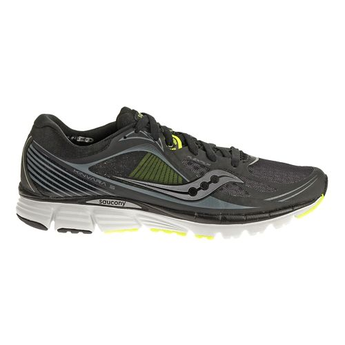 Mens Saucony Kinvara 5 Running Shoe - Black 12.5