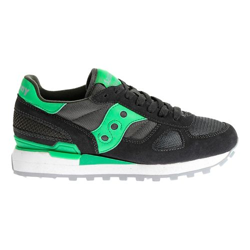 Womens Saucony Shadow Original Casual Shoe - Charcoal/Teal 8.5