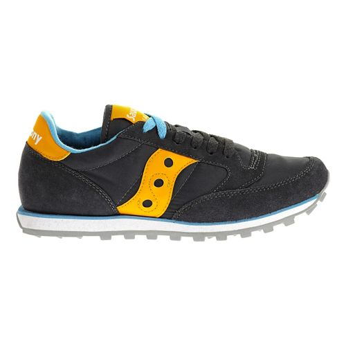 Womens Saucony Jazz Low Pro Casual Shoe - Charcoal/Orange 7