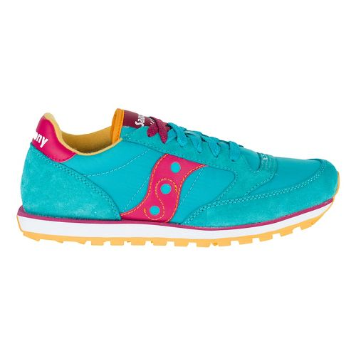 Womens Saucony Jazz Low Pro Casual Shoe - Peacock Blue 8.5