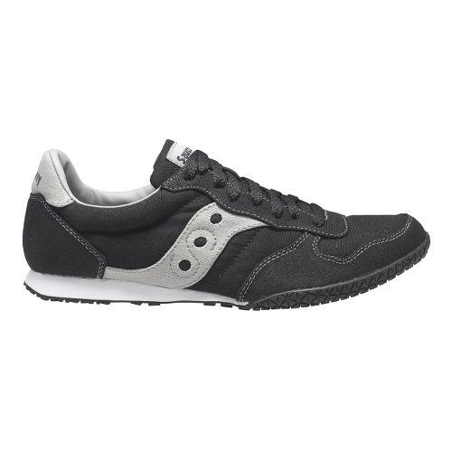 Mens Saucony Bullet Vegan Casual Shoe - Black/Grey 7.5