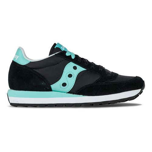 Womens Saucony Jazz Original Casual Shoe - Black/Mint 7.5
