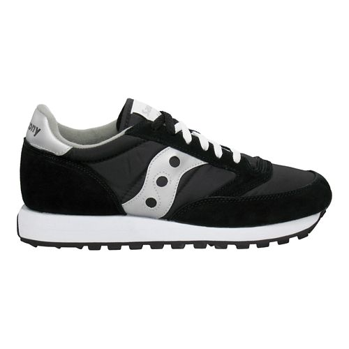 Womens Saucony Jazz Original Casual Shoe - Black/Silver 9