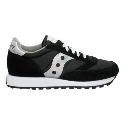 Womens Saucony Jazz Original Casual Shoe - Black/Silver 8