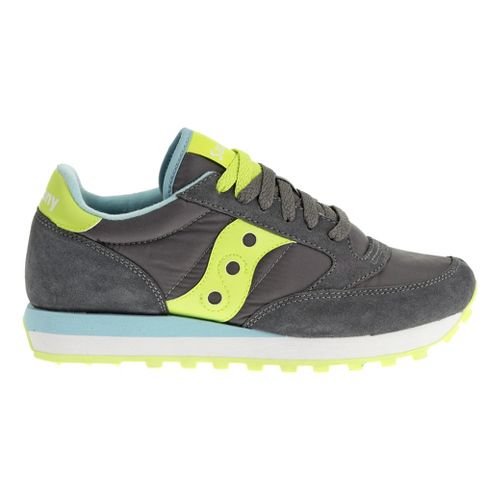Womens Saucony Jazz Original Casual Shoe - Charcoal/Green 6