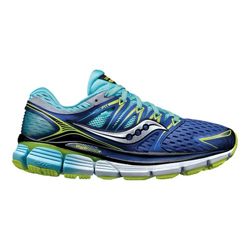 Womens Saucony Triumph ISO Running Shoe - Blue 6.5