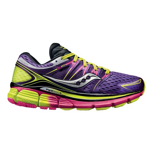 Womens Saucony Triumph ISO Running Shoe - Purple 8