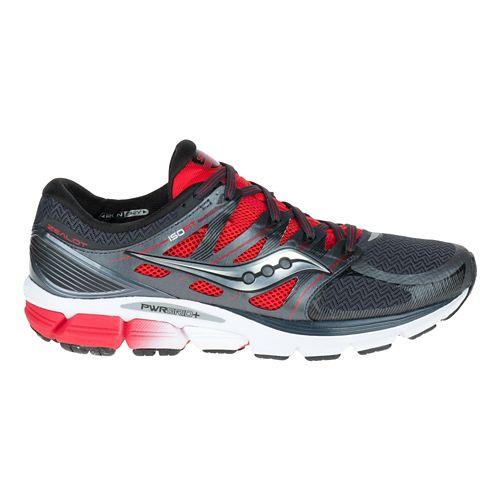 Mens Saucony Zealot ISO Running Shoe - Red/Black 13