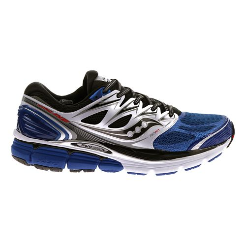 Mens Saucony Hurricane ISO Running Shoe - Blue 7.5