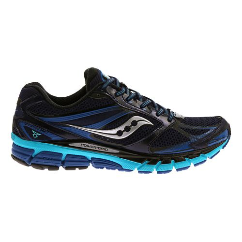 Mens Saucony Guide 8 Running Shoe - Navy/Blue 12.5