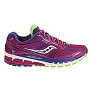 Womens Saucony Guide 8 Running Shoe - Berry 6