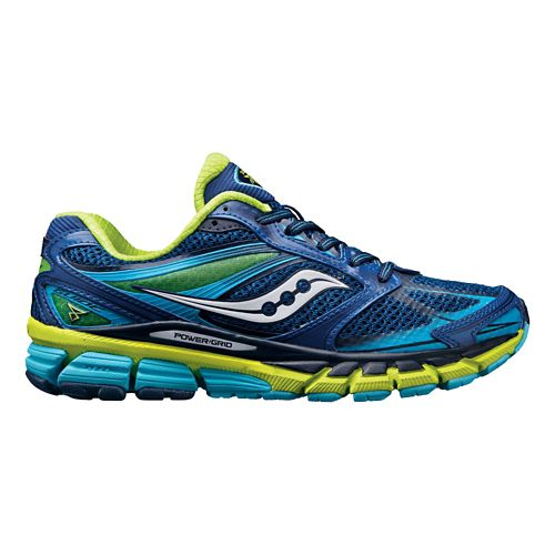 Womens Saucony Guide 8 Running Shoe - Navy 8