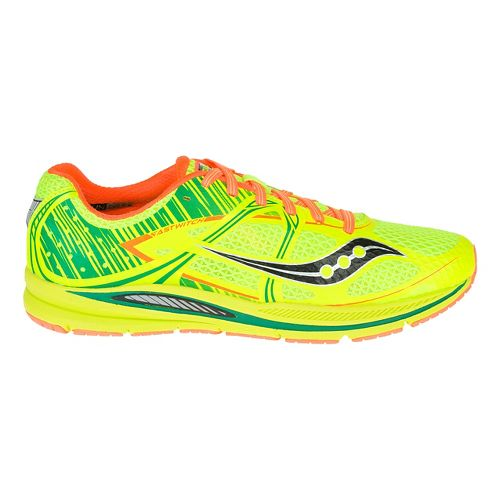 Mens Saucony Fastwitch Running Shoe - Red/White 9