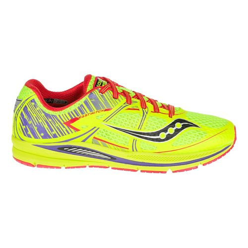 Womens Saucony Fastwitch Running Shoe - Citron 7