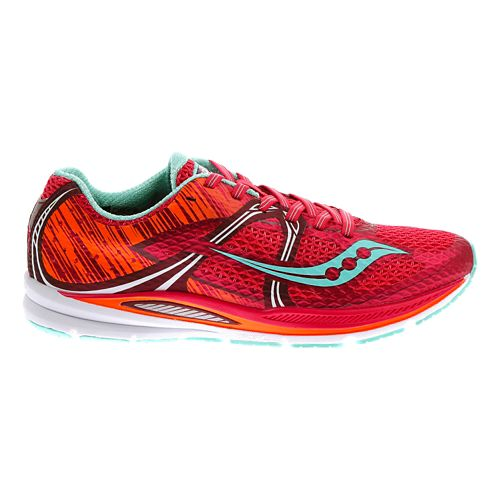 Womens Saucony Fastwitch Running Shoe - Berry 11.5