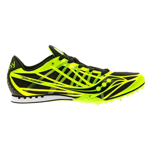 Mens Saucony Velocity Track and Field Shoe - Citron 12.5