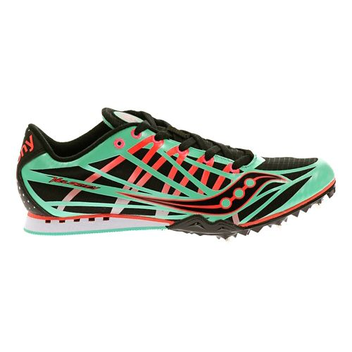 Womens Saucony Velocity Track and Field Shoe - Mint 5