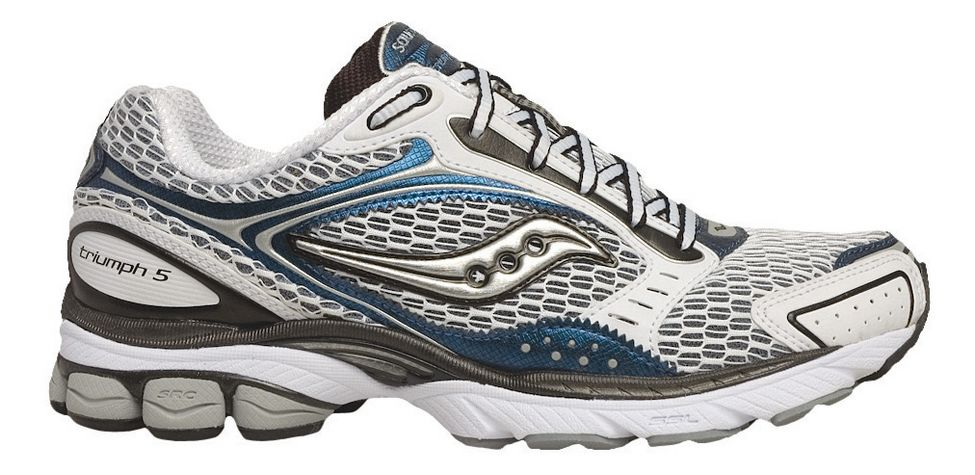 mens saucony progrid triumph 5 running shoe at road runner sports