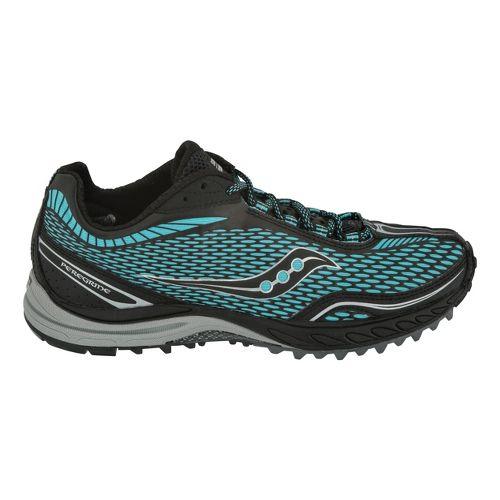 Womens Saucony ProGrid Peregrine Trail Running Shoe - Aqua 6