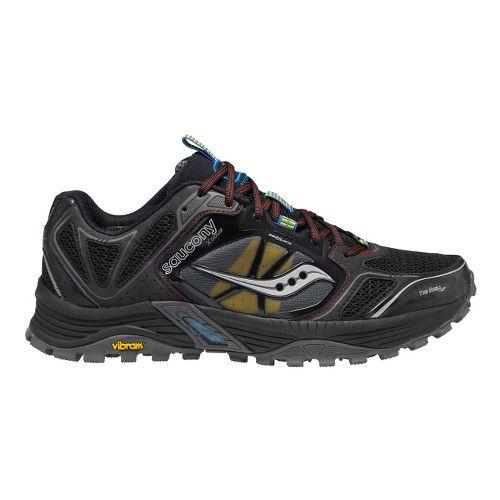 Mens Saucony Xodus 4.0 Trail Running Shoe - Black/Red 9.5