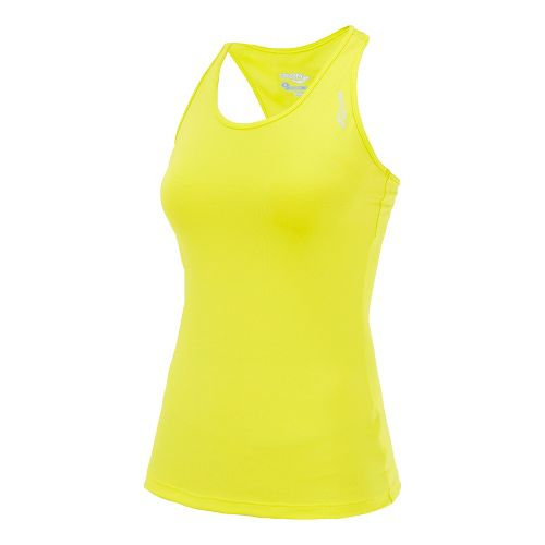 Womens Saucony Solid Racer Back Tank Singlets Technical Tops - Sipher S