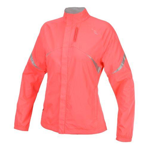 Womens Saucony Sonic Vizi Running Jackets - Vizipro Coral XL