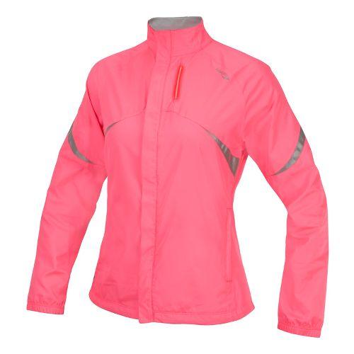 Womens Saucony Sonic Vizi Running Jackets - Vizipro Pink XL