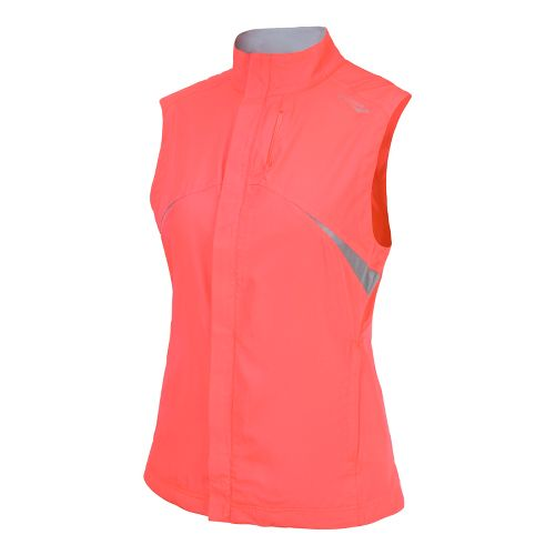 Womens Saucony Sonic Vizi Running Vests - Vizipro Coral M