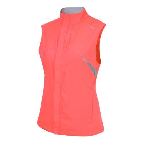 Womens Saucony Sonic Vizi Running Vests - Vizipro Coral XS