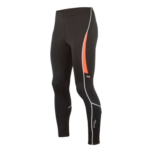 Mens Saucony Omni LX Fitted Tights - Black/Vizipro XL