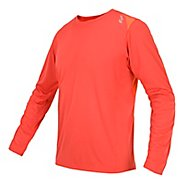 Mens Saucony Fastr Long Sleeve No Zip Technical Tops