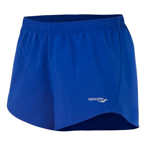 Womens Saucony PE Core Unlined Shorts - Stellar XL