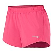 Womens Saucony PE Core Unlined Shorts