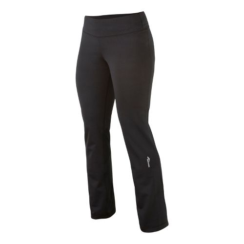 Womens Saucony Drylete Full Length Pants - Black L