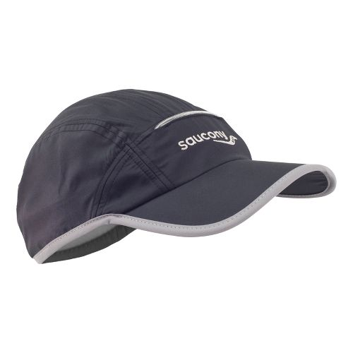 Saucony Sonic Vizi Cap with LED Headwear - Black